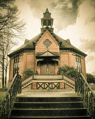 Photograph - Seney-stovall Chapel by Lynne Jenkins