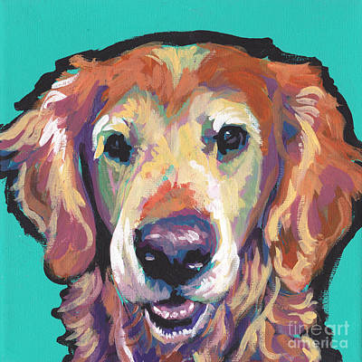 Kid Painting - Senior And Golden by Lea S