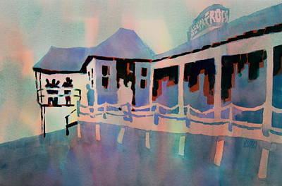Senior Frog's - Playa Del Carmen Art Print