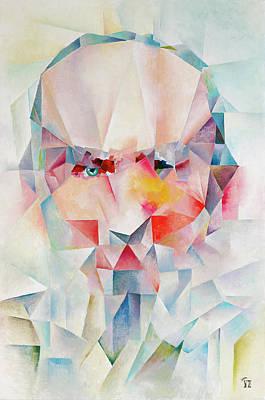 Painting - Senior Man by Vlad Zabavskiy