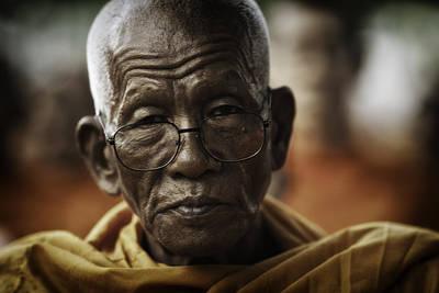 Senior Monk 1 Art Print
