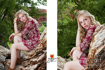 Photograph - Senior Pics by Afrodita Ellerman
