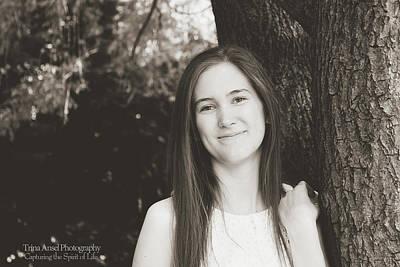 Photograph - Senior Portrait by Trina Ansel