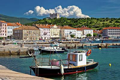 Photograph - Senj Idyllic Mediterranean Waterfront View by Brch Photography