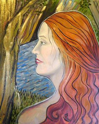 Painting - Senka by Ida Eriksen