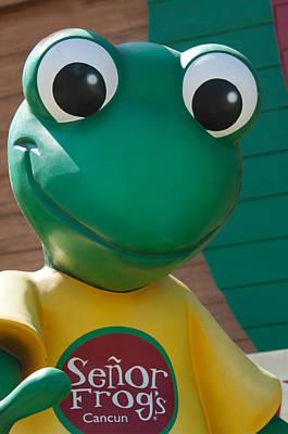 Digital Art - Senor Frogs In Cancun by Carol Ailles