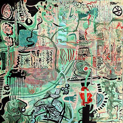 Painting - Senor Garabato by Scott Steelman