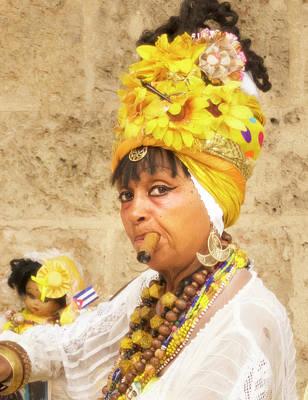 Photograph - Senora Habana by Jessica Levant