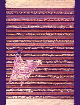 Drawings Royalty Free Images - Senorita Dance Royalty-Free Image by Steve Karol