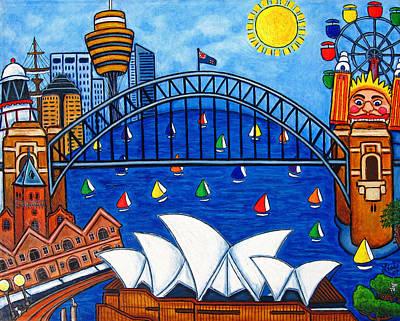 Sydney Painting - Sensational Sydney by Lisa  Lorenz