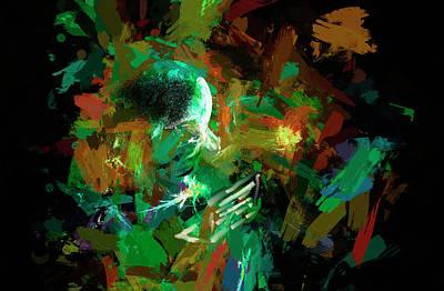 Sensei... Art Print by Aleksandrs Drozdovs