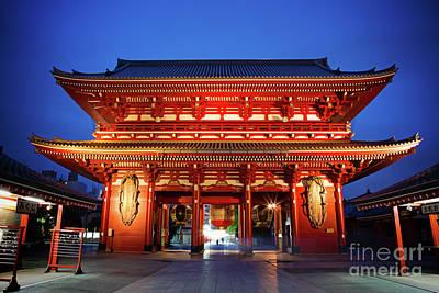 Photograph - Sensoji Temple Tokyo by Jane Rix