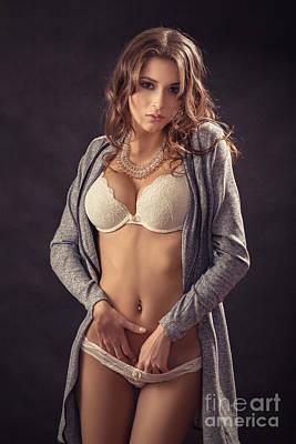 Arouse Photograph - Sensual Aroused by Aleksey Tugolukov