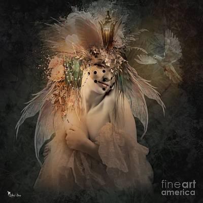 Digital Art - Sensual In The Dawn Light 2 by Ali Oppy
