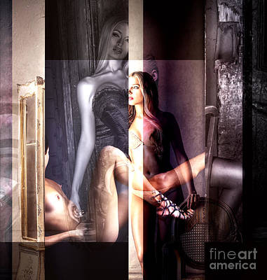 Digital Art - Sensual by John Rizzuto