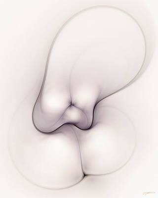 Digital Art - Sensual Manifestations 2 by Casey Kotas