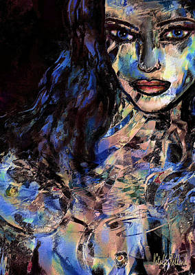 Mixed Media - Sensuelle by Natalie Holland