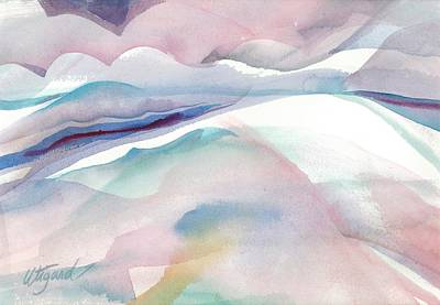Painting - Sensuous Landscape by Carolyn Utigard Thomas