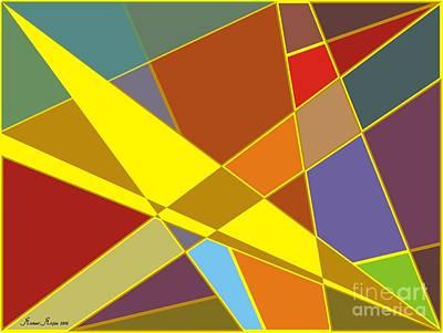Vivid Colour Painting - Sentimental Colors by Michael Mirijan