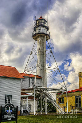 Photograph - Sentinel At Whitefish Point by Nick Zelinsky