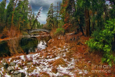 Photograph - Sentinel Bridge, Yosemite Valley  by Blake Richards