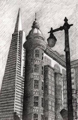 Sentinel Building Art Print
