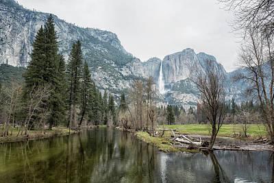 Photograph - Yosemite Falls by Belinda Greb