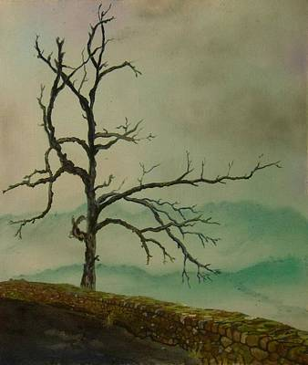 Sentinel Of The Shenandoah  Art Print by Nicole Angell