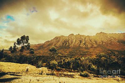 Western Art Photograph - Sentinel Range Tasmania by Jorgo Photography - Wall Art Gallery
