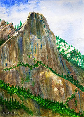 Painting - Sentinel Rock Yosemite by Douglas Castleman