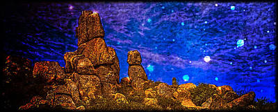 Photograph - Sentinel Rocks  by Roger Passman