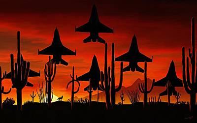 Sentinels Original by David Wagner
