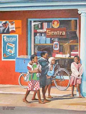 Sentra Art Print