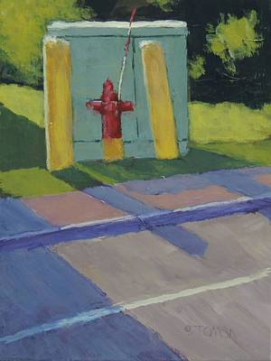 Painting - Sentries - Art By Bill Tomsa by Bill Tomsa
