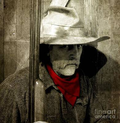 Old Western Photograph - Sentry3 by The Stone Age