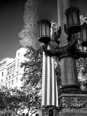 Photograph - Senyera In Barcelona by John Rizzuto
