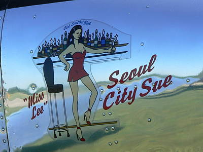 Seoul City Sue Art Print by Ron Hayes