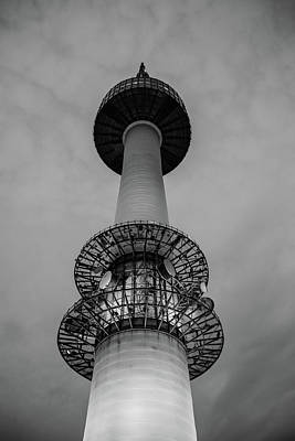 Seoul Photograph - Seoul N Tower by Hyuntae Kim