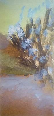 Inner World Painting - Separation by Madina Kanunova