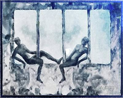Painting - Separation by Hartmut Jager