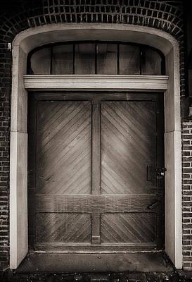 Sepia Doorway Art Print