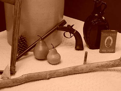 Sepia Still Life And Old Things Original