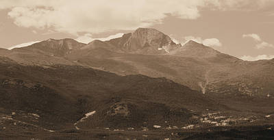 Photograph - Sepia Toned Rocky Mountain National Park by Dan Sproul