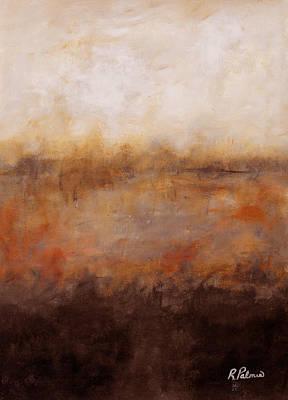 Sepia Wetlands Art Print