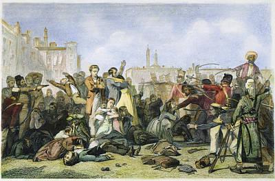 Sepoy Mutiny, 1857 Art Print by Granger