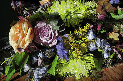 Photograph - Sept. Bouquet by Betsy Zimmerli