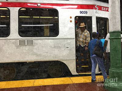 Photograph - Septa 9039 by Valerie Morrison