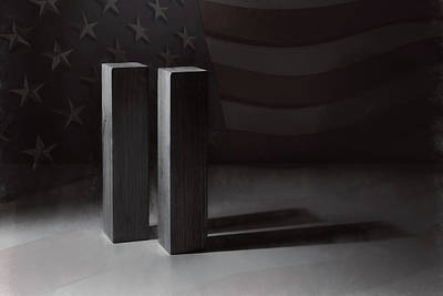 Negative Space - September 11, 2001 -  Never Forget by Scott Norris