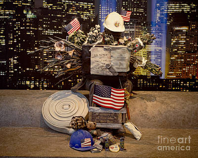 September 11 Memorial Print by Terry Weaver