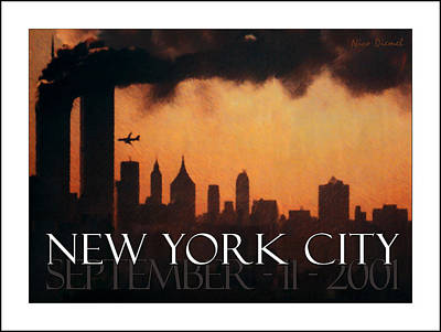 Fdny Painting - September 11 by Nick Diemel